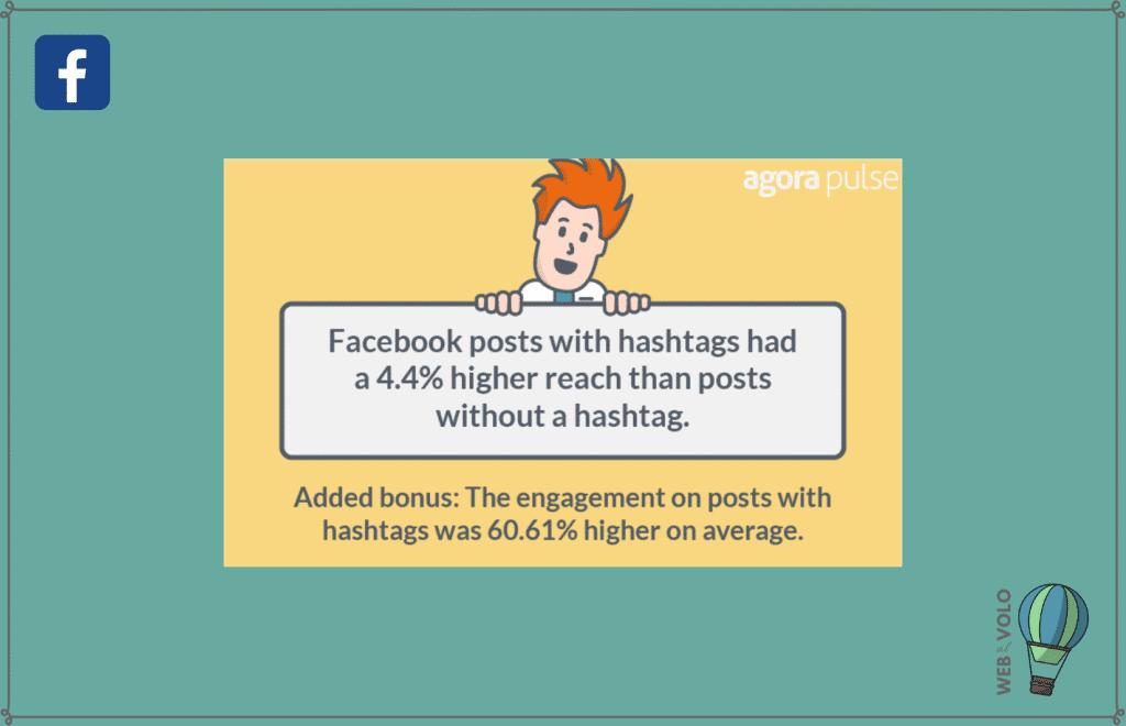 servono hashtag facebook