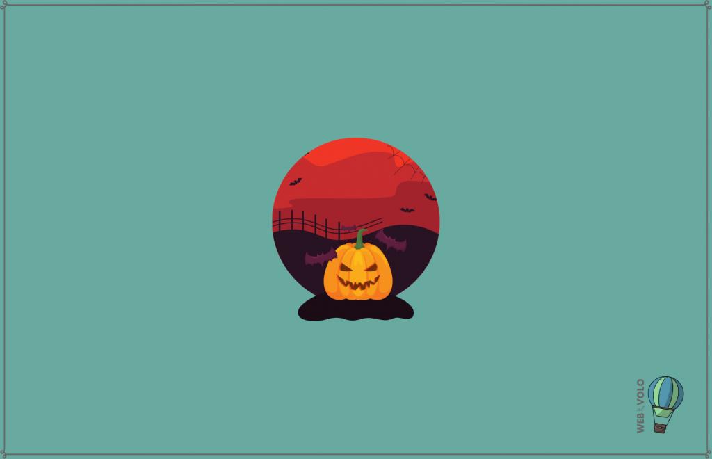pubblicità di halloween